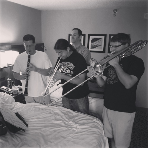Dixie Rehearsal In The Groom's Hotel Room Pre-Wedding